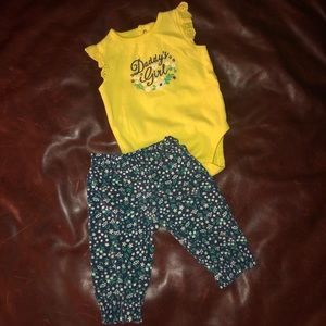 Sz 6m Carter's Daddy's Girl outfit